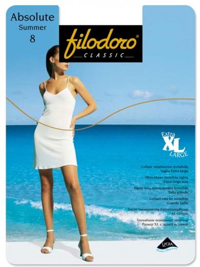 Filodora Classic Колготки женские Absolute Summer 8 XL