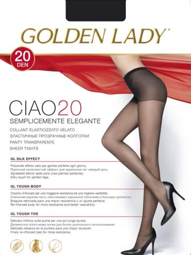 Golden Lady Колготки женские Ciao 20 XL