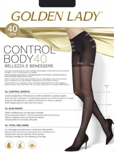 Golden Lady Колготки женские Control Body 40