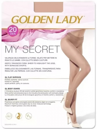 Golden Lady Колготки женские My Secret 20