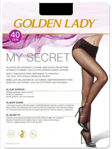 Golden Lady Колготки женские My Secret 40