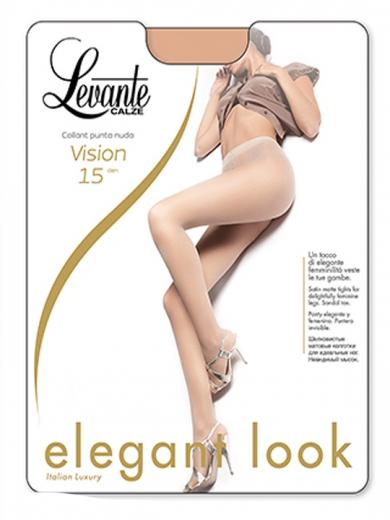Levante Колготки женские Vision 15 XXL punta nuda