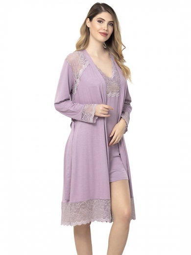 reina №2501 Комплект сорочка пеньюар