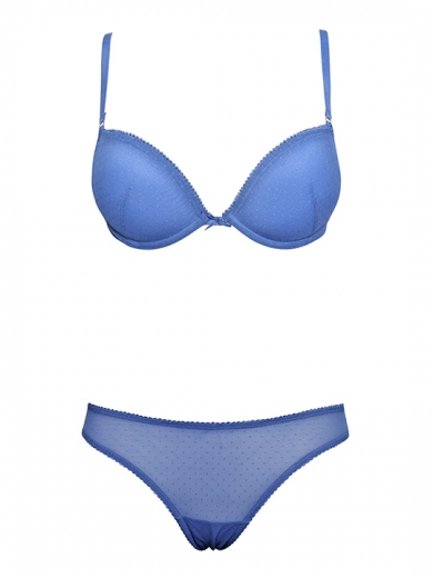 Бюстгальтер sielei мода Комплект №6914+6917 пуш-ап бразильяна Spring Tulle