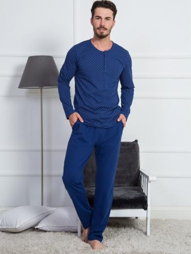 Vienetta №903228 0293 Комплект мужской -Gazzaz с брюками на пуговицах