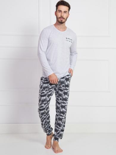 Vienetta №905029 1494 Комплект мужской -Gazzaz с брюками на манжетах