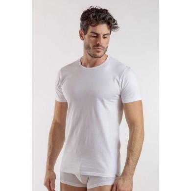 Футболка enrico coveri Мужская футболка белая EM1100