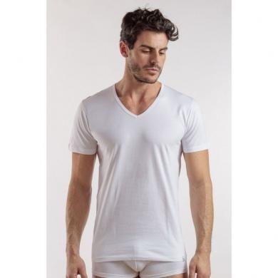 Футболка enrico coveri Мужская футболка белая EM1101