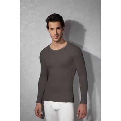doreanse Мужская футболка с длинным рукавом термо серая 2990