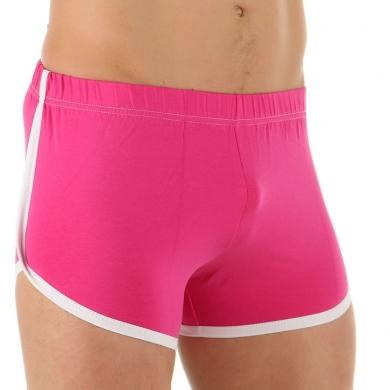 VAN BAAM BOEFJE Мужские шорты домашние розовые 35635