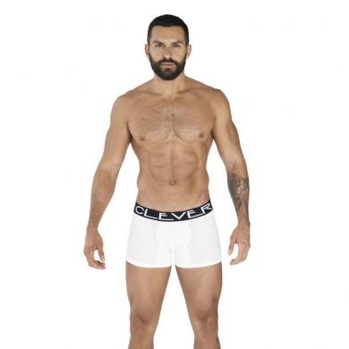 clever Мужские трусы боксеры белые Clever STRATEGY BOXER 036101