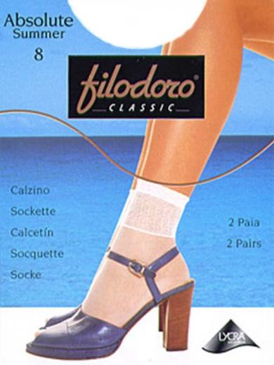 Filodora Classic Носки женские Absolute Summer 8 [2 пары]