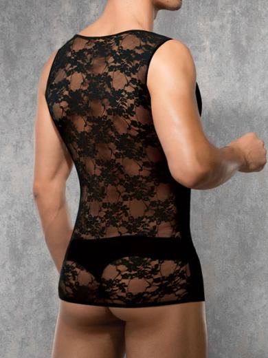 doreanse Black Lace 2352-01 Майка с кружевными вставками