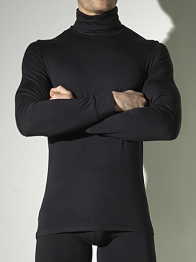 Футболка hom Warm Inners 03346-K9 футболка с длинным рукавом мужская