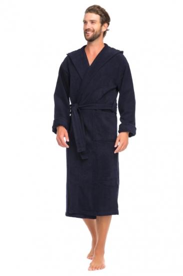 evateks Мужской махровый халат с капюшоном SPORT&Life (Е 901-1)