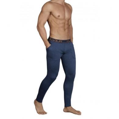 clever Мужские кальсоны синие Clever Cale Long Pant 031708