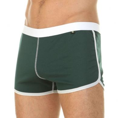 van baam boefje Мужские шорты домашние зеленые 39851