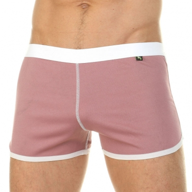 van baam boefje Мужские шорты домашние розовые 39840