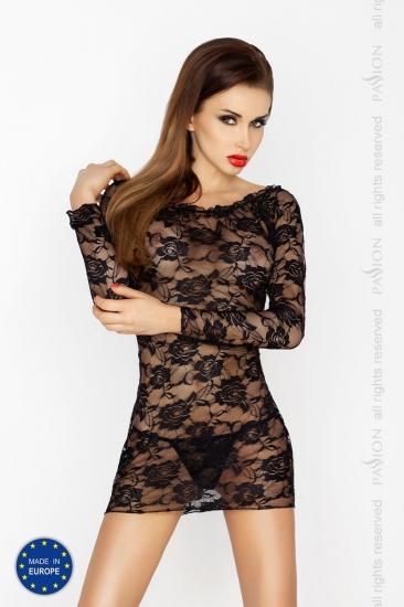 passion erotic line Yolanda chemise Black