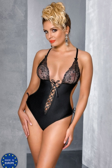 passion size plus Zoja body Black