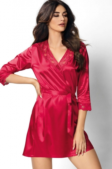 donna Venus dressing gown Red