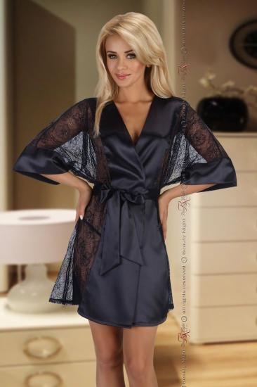 beauty night Stephanie Black пеньюар+стринги