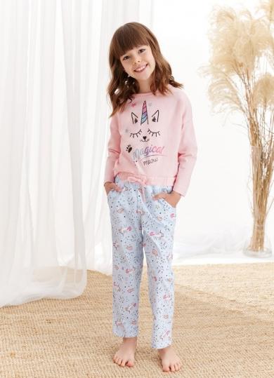 taro 1179/1180 S20/21 NADIA Пижама для девочек со штанами