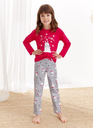 taro 2252/2253 AW20/21 MAJA Пижама для девочек со штанами