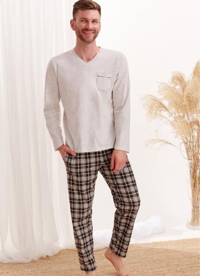 taro 2456 AW20/21 TYMON Пижама мужская со штанами