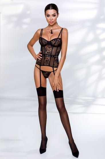 passion lingerie Leticia corset корсет+стринги