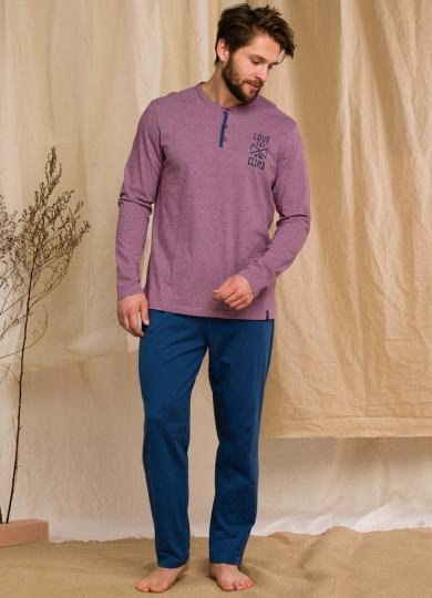 key MNS 347 20/21 Пижама мужская со штанами