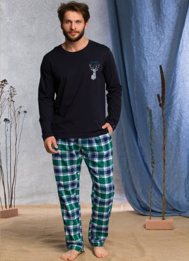 key MNS 489 20/21 Пижама мужская со штанами