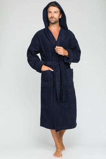 evateks Мужской махровый халат с капюшоном Sport&Style (Е 903)