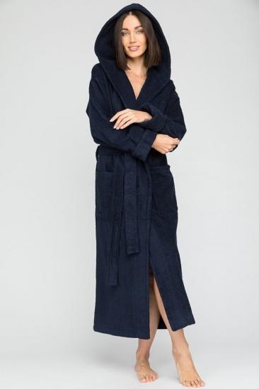 evateks Женский махровый халат с капюшоном Sport&Style (Е 903)