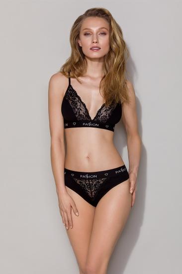 Бюстгальтер passion lingerie PS001 top Black