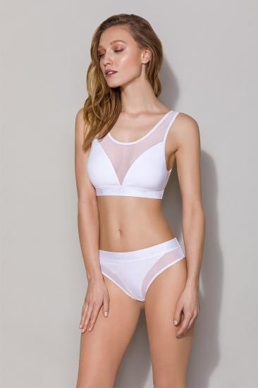 Трусы passion lingerie PS002 panties White