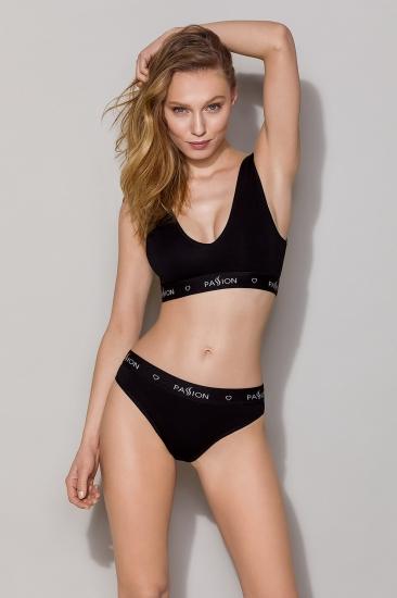 Бюстгальтер passion lingerie PS004 top Black