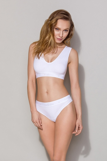 Бюстгальтер passion lingerie PS005 top White