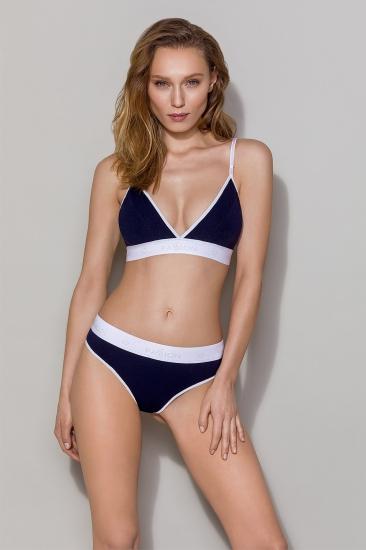 Бюстгальтер passion lingerie PS007 top Navy Blue