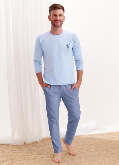 taro 1006/1007 AW20/21 KAROL Пижама мужская со штанами