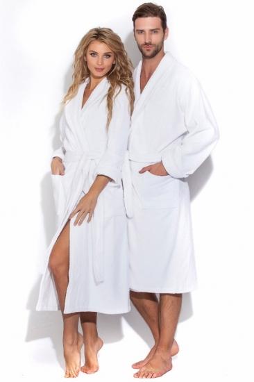 evateks Белый банный халат Arctic White унисекс (Е 363/5)