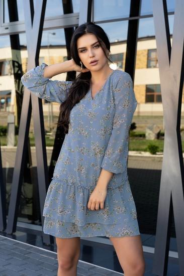 merribel D104 Provena sukienka Blue платье