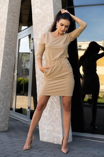 merribel D14 Ponitama sukienka Beige платье