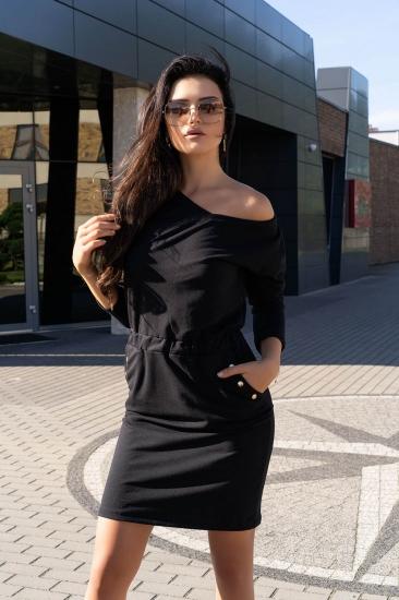 merribel D14 Ponitama sukienka Black платье