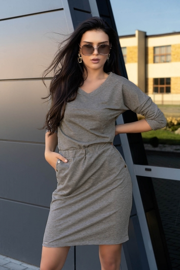 merribel D14 Ponitama sukienka Grey платье