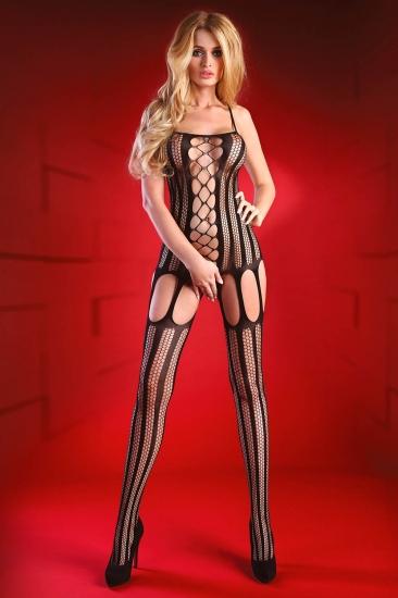 livco corsetti fashion LC 17132 Almas bodystocking Black боди-комбинезон