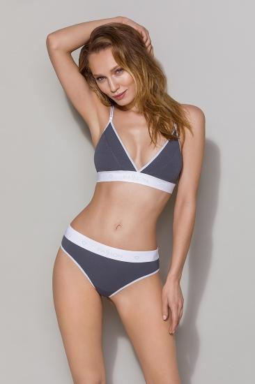 Бюстгальтер passion lingerie PS007 top Dark Grey бюстгальтер