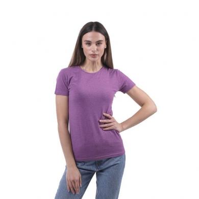 sergio dallini Женская футболка фиолетовая Sergio Dallini SDT651-9