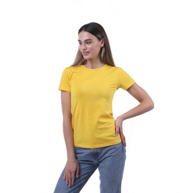 sergio dallini Женская футболка желтая Sergio Dallini SDT651-6