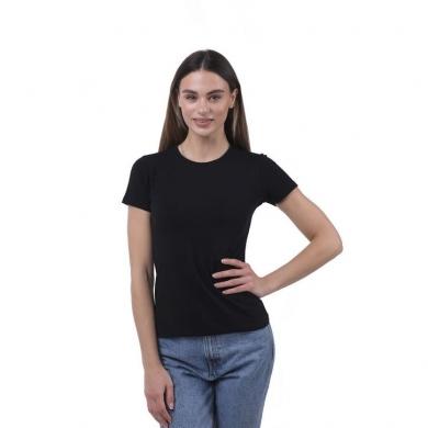 sergio dallini Женская футболка черная Sergio Dallini SDT651-5